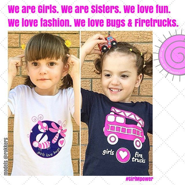We are girls, we are daughters, we are sisters, we are fun, we are explorers, we are adventurers and we have interests beyond what we are 'expected' to like and enjoy | Thanking these gorgeous, confident, fun and empowered sisters E & M @rokkers | #girlmpower >>> Please Pin Now and Be Inspired Later <<<
