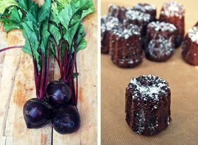 Chocolade cakejes met rode biet | Goddelijke Huisvrouw