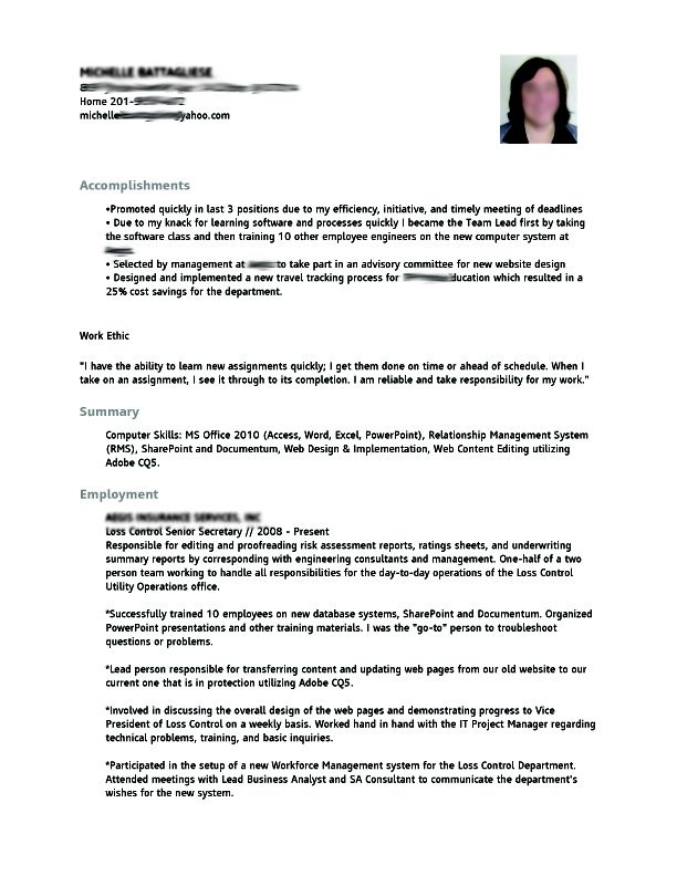 53 best Resume Samples images on Pinterest Resume, Resume cv and - type of resume