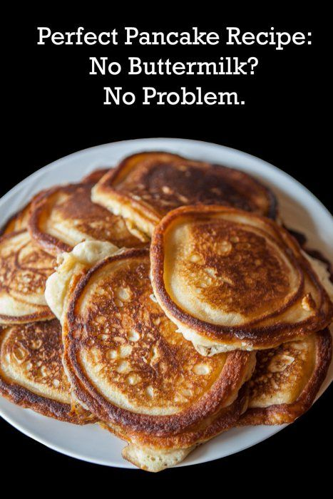 The 25 best easy pancake recipe without milk ideas on pinterest you can make amazing pancakes without buttermilk and no fresh milk either ccuart Choice Image