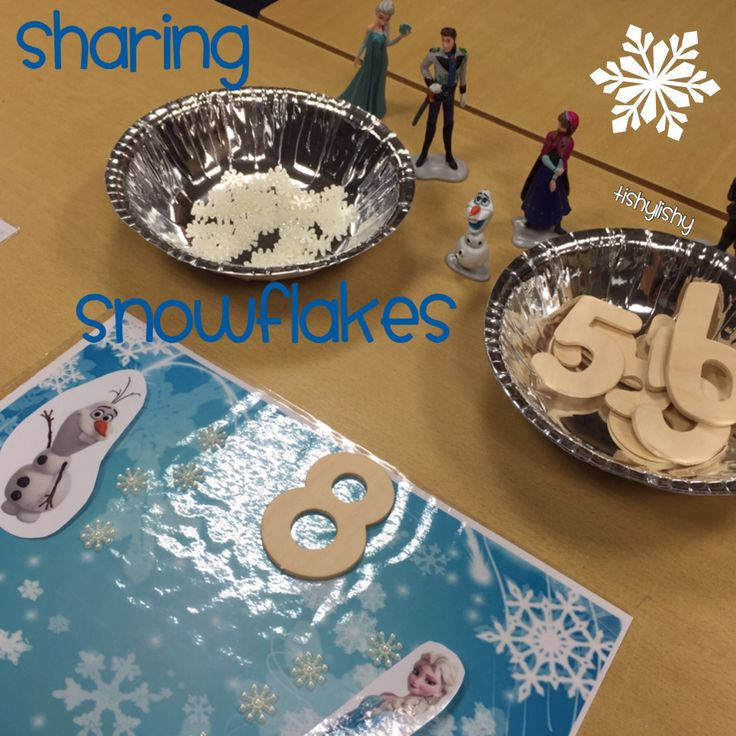 Using the Frozen theme to explore sharing, combining amounts and understanding of odd and even numbers.