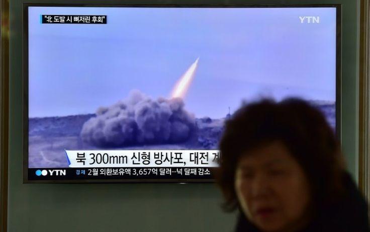 North Korea fires ballistic missile into sea: Seoul