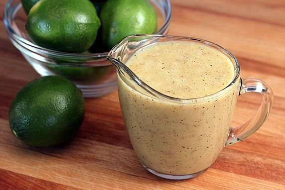 honey lime vinaigrette - perfect over cherry tomatos and avocado