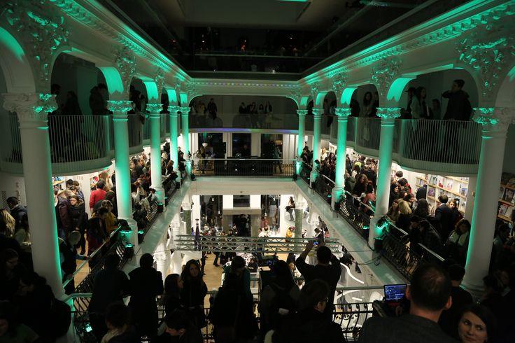 Cărturești Carusel Bookstore   Opening Night Party