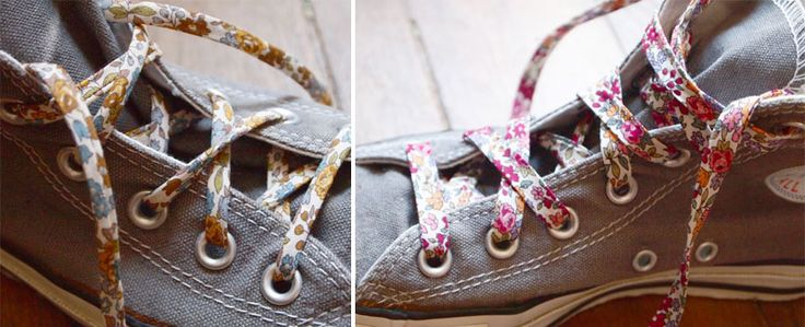 Nouveauté Frou-Frou, le spaghetti en tissu, lacets chaussures | Mercerie Créative - Couture Facile I Paritys