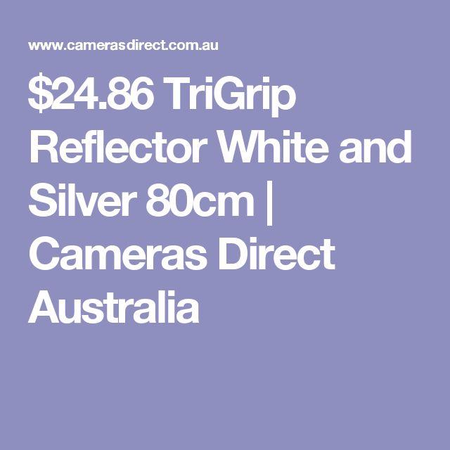 $24.86 TriGrip Reflector White and Silver 80cm | Cameras Direct Australia