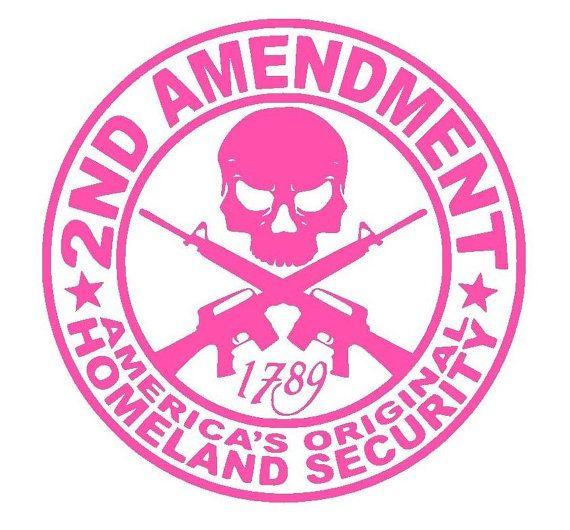 Amendment decal sticker second amendment by tawoodandvinyl