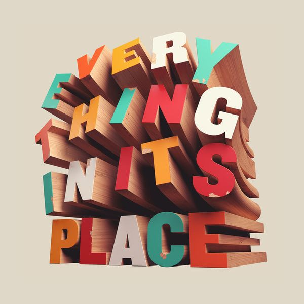 """Typeverything.com - Buy this as a print - """"Everything In Its Place"""" by David McLeod."""