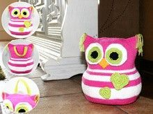 For more, click on the photo to visit the site.  Owl – Doorstop – Stuffed Toy – …