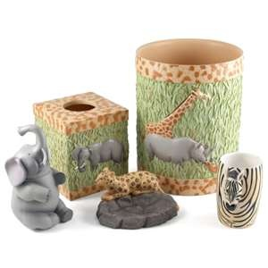 Safari Bathroom Accessories. I Love The Elephant. Part 43