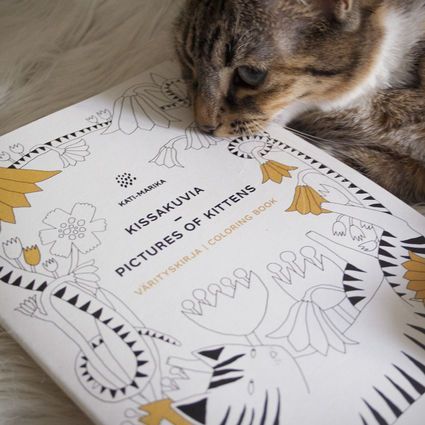 Värityskirja, Kissakuvia | Weecos