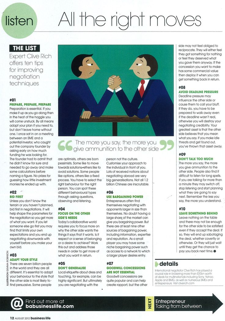 how to succeed in business negotiation Throughout the course of our daily lives we are negotiating with everyone around us whether you relish the art of negotiating or dread the thought of it, there are ways to make the process and outcome a positive one in a professional setting here are 10 tips that can help you succeed in your next.