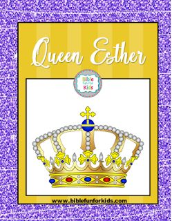 Queen Esther #Biblefun #OTBiblelesson