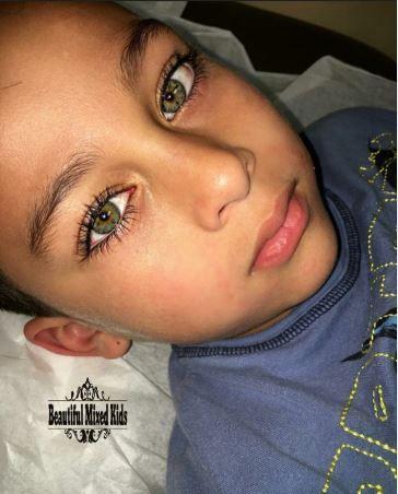 Palestinien et mexicain – Garçon de 6 ans – Il est adorable!   – little beauties