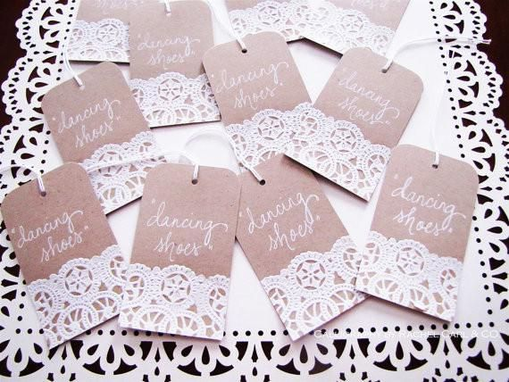 These would make great Thank You tags for your Bonbonnieres!