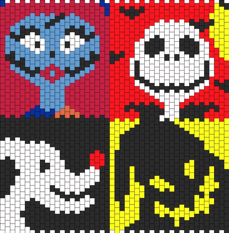 7df61816b23268d9a8e0dfb744cefd6e peyote patterns perler patterns 82 best nightmare before christmas images on pinterest peyote Circuit Breaker Box at mifinder.co