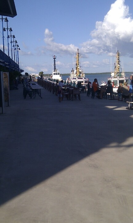 Harbour Wharf - Darwin. Australia
