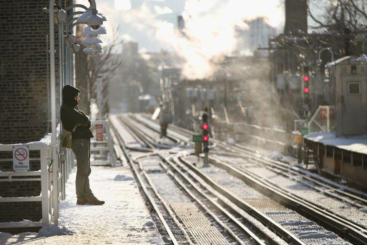 凍り付いたシカゴのシュールな写真集