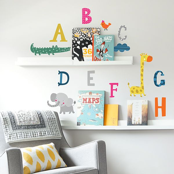 26 best removable wall decals for kids rooms images on pinterest abc safari wall decals from paper riot co gumiabroncs Images