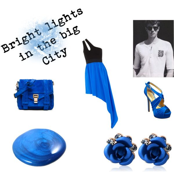"""Big city lights"" by tactica on Polyvore"