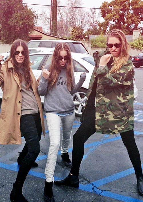 Pin By Jacinda S On Music Makers Pinterest Haim Style Style Icons And Grunge