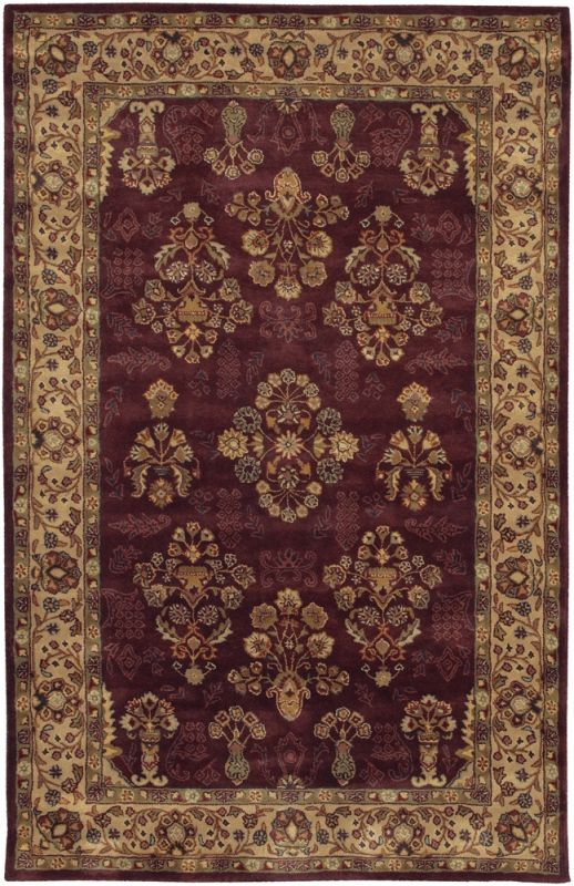 $5 Off when you share! Chandra Rugs Dream DRE3130 Burgundy Rug | Traditional Rugs #RugsUSA