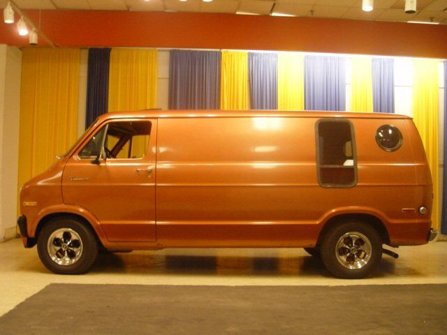 1970s custom show vans | 1975 Dodge Full Size Van - Stock ...