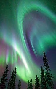 Northern Lights Aurora Borealis Angel