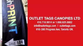 OUTLET TAGS CANOPIES LTD. TORONTO CANADA - YouTube