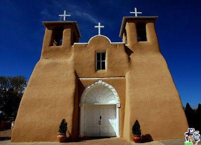 Iglesia San Francisco de Asís (Ranchos de Taos, Nuevo México.)