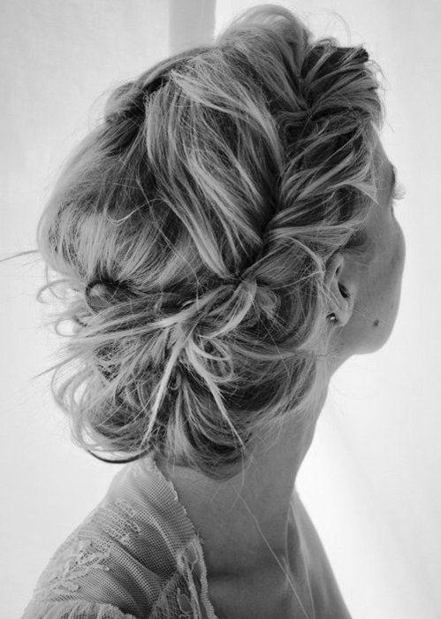 Peinado recogido feria