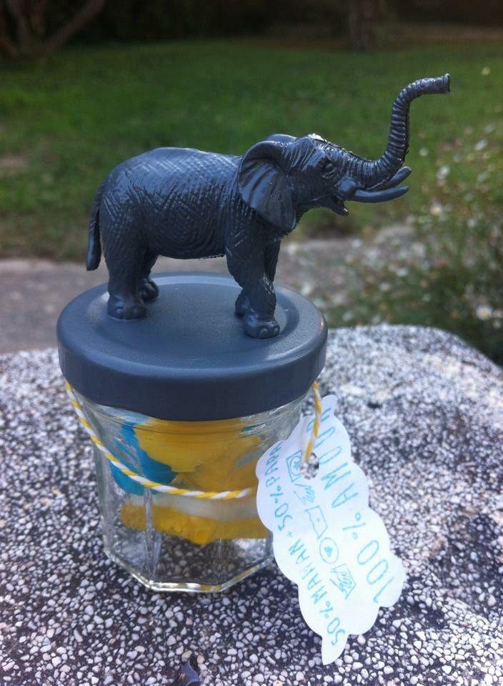 Dragée bonbon éléphant