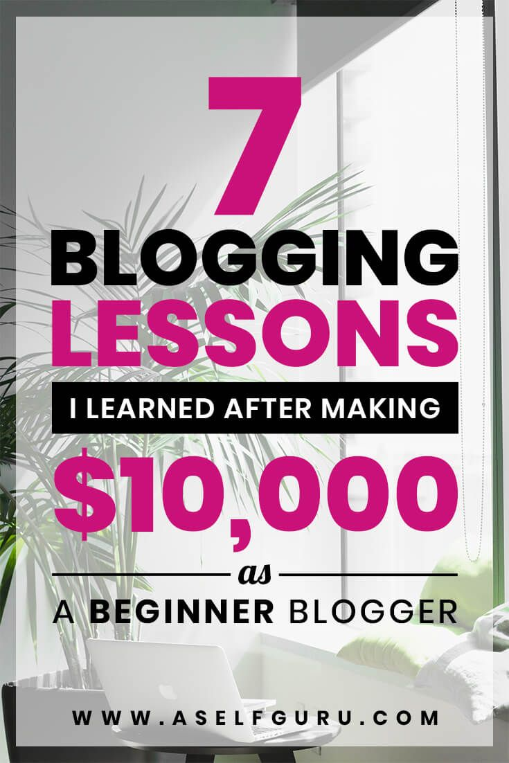 7 Blogging Lessons I Learned After Making $10,000 as a Beginner – Amira | Legal, Business & Blogging Tips