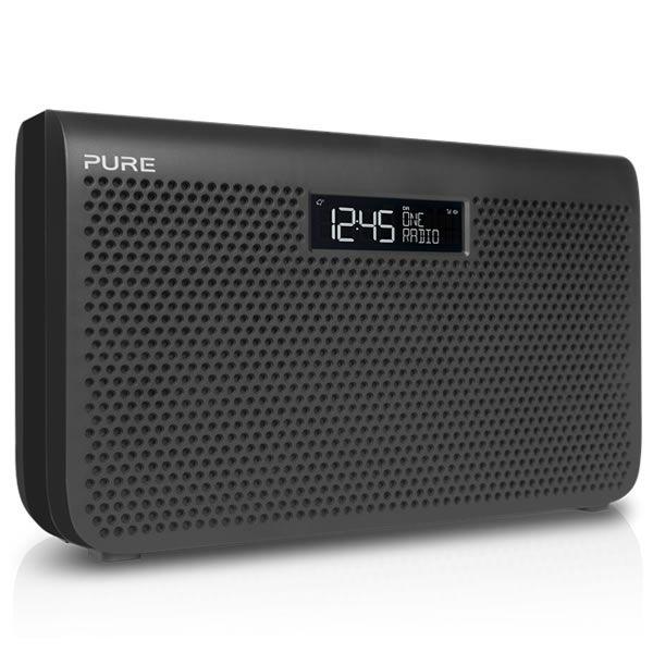 Pure ONE MAXI SERIES3 GRAPHITE Stereo Portable DAB/DAB  Radio LARGE Display Graphite http://www.MightGet.com/january-2017-13/pure-one-maxi-series3-graphite.asp