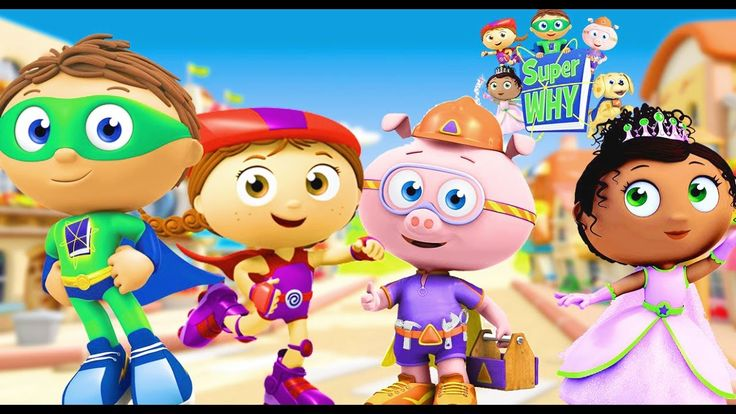 Super WHY! Full Episodes English ✳️ Super Why Phonics Fair  ✳️Nursery Rh...