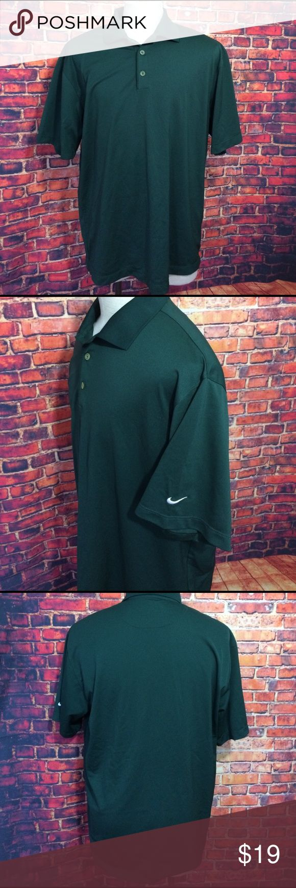 Nike Golf 🏌 Green Polo Shirt XL Nike Golf 🏌 Green Polo Shirt XL Nike Shirts Polos