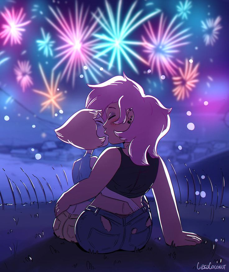 Beach City fireworks | Steven Universe | Know Your Meme