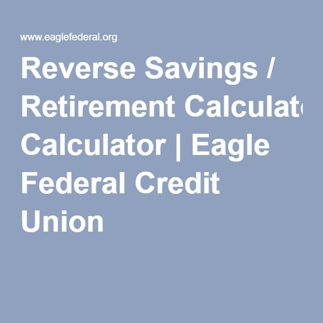 Unique Federal Retirement Calculator Ideas On