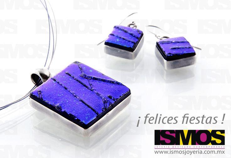 ISMOS Joyería: vidrio y plata // ISMOS Jewellery: glass and silver