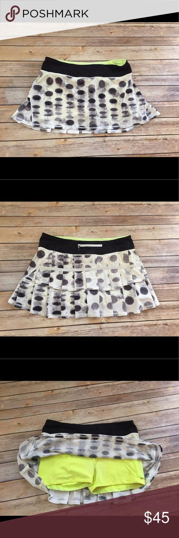 LuLulemon Athletica polkadot tennis skirt LuLulemon Athletica polkadot tennis skirt lululemon athletica Skirts