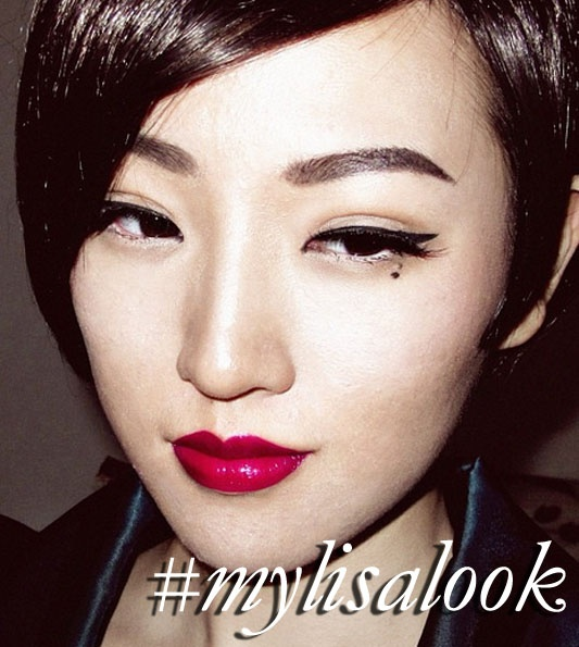 yemama's recreating of my 'Pin Up Look' Tutorial http://www.lisaeldridge.com/video/2720/pin-up-look/ #MyLisaLook