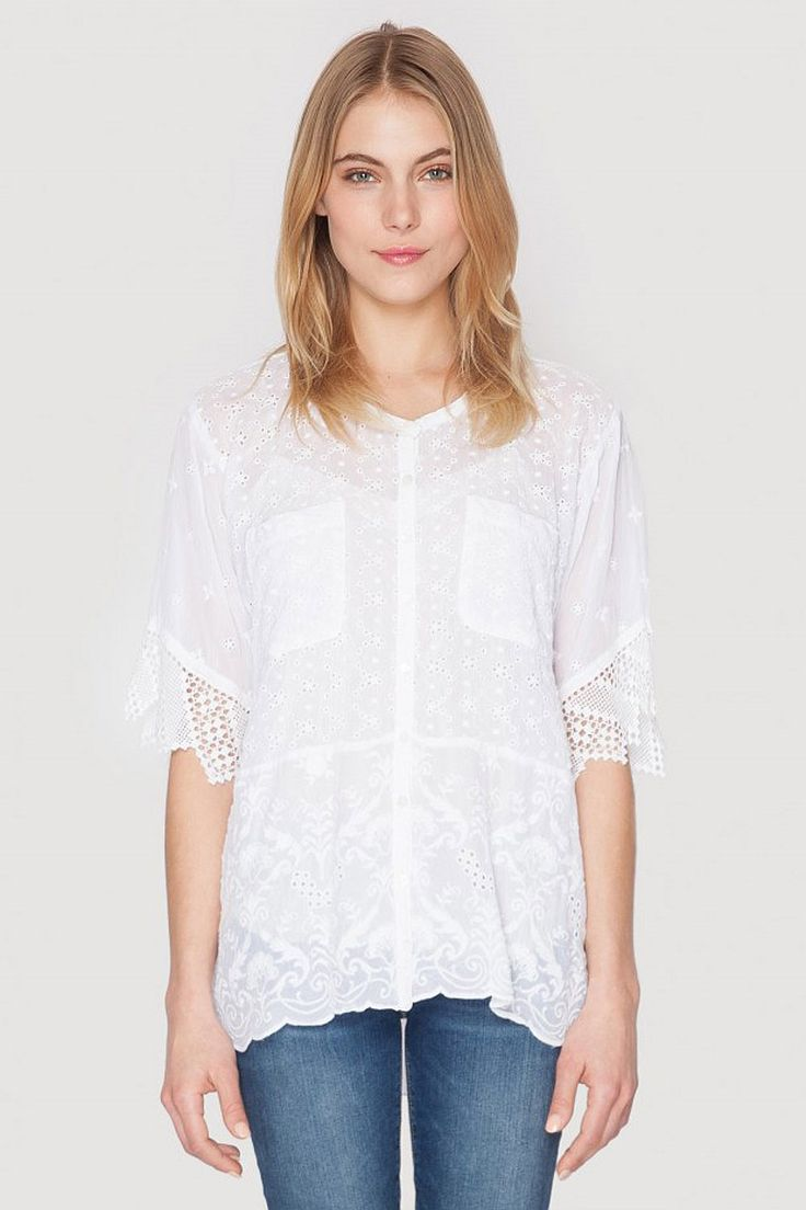 Johnny Was - Stella Boxy Blouse