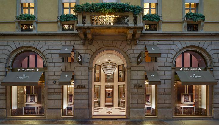 A Milano apre la boutique Patek Philippe