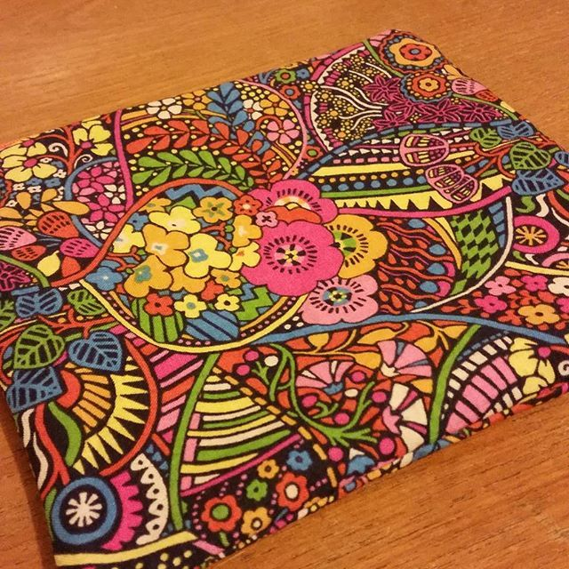 Liberty of London Zipper Pouch. Second last order to be shipped for today. by thelyrebirdsnest