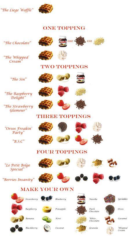 waffle-topping-menu
