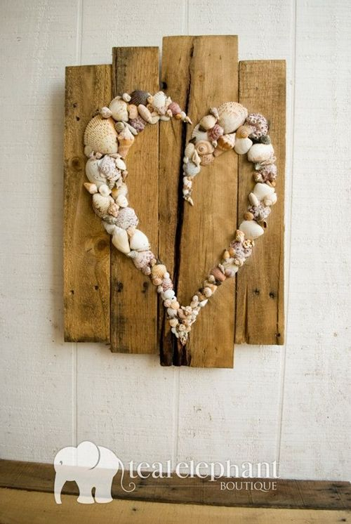 Wood Wall Hanging Art Part - 21: 10 DIY Projects To Make With Your Beach Holiday Flotsam U0026 Jetsam - PAPER U0026  LACE