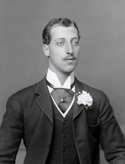Portrait of Prince Albert Victor of Wales, circa 1880s - #MensFashion #Mens #Dandy #Fashion #Style #Menswear