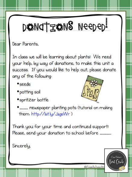 25 Best Ideas About Classroom Donation Ideas On Pinterest
