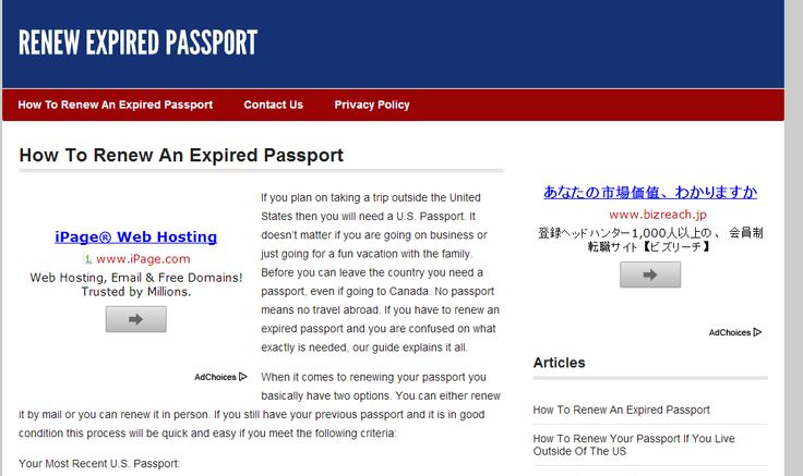 http://www.renewexpiredpassport.net/renew-an-expired-passport/ - apply for passport Come renew your expired passport today, it's fast and easy. https://www.facebook.com/bestfiver/posts/1421444458068525