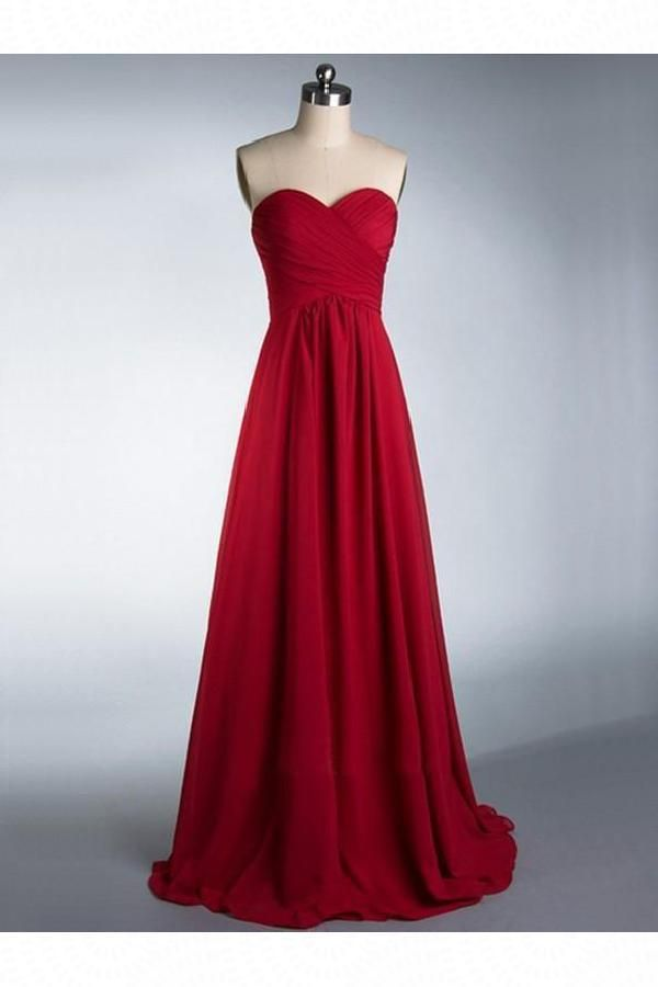 Absorbing Bridesmaid Dresses Cheap, Chiffon Bridesmaid Dresses, Burgundy Bridesmaid Dresses